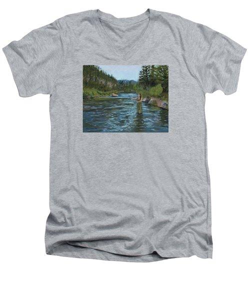 Casting Call Men's V-Neck T-Shirt