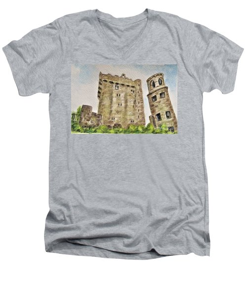 Castle Blarney Men's V-Neck T-Shirt