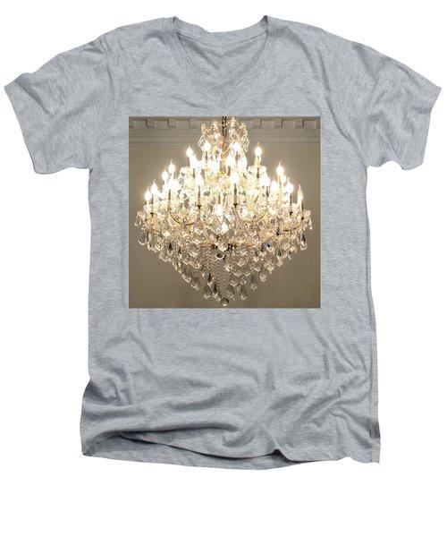 Castle Guest 01 Men's V-Neck T-Shirt