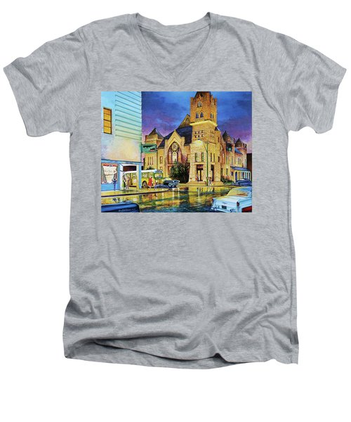 Castle Of Imagination Men's V-Neck T-Shirt