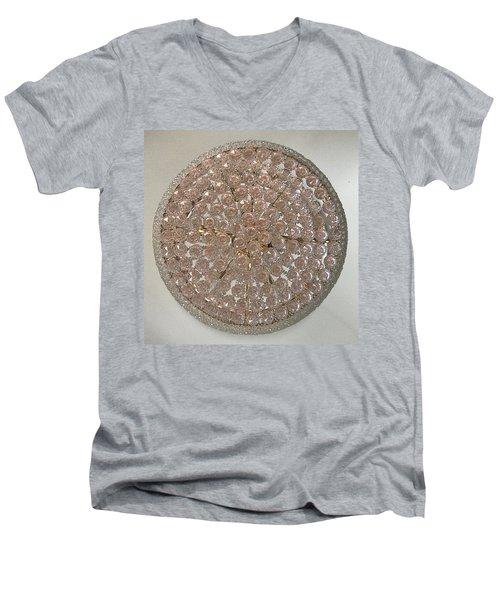 Castle Rose 01 Men's V-Neck T-Shirt