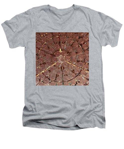 Castle Rose 03 Men's V-Neck T-Shirt