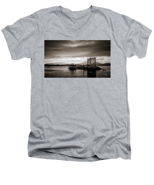 Castle Stalker 1 Men's V-Neck T-Shirt
