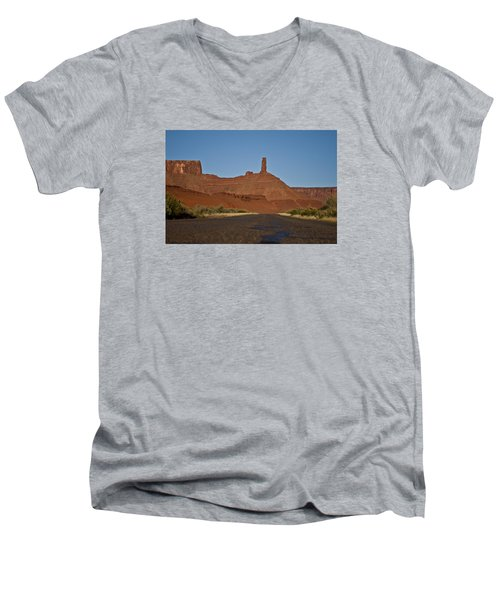 Castleton Valley Men's V-Neck T-Shirt