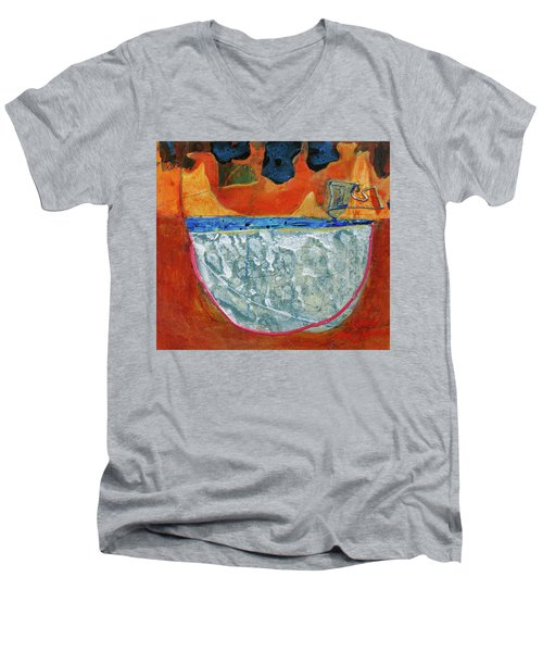 Cat In A Hat Men's V-Neck T-Shirt