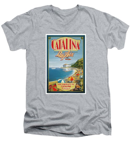 Catalina By Air Men's V-Neck T-Shirt
