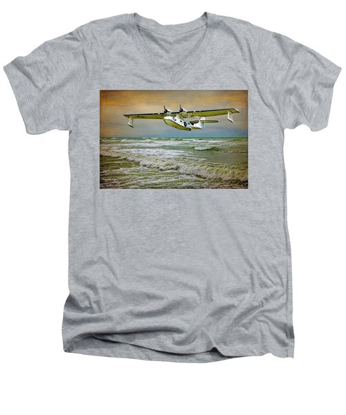 Catalina Flying Boat Men's V-Neck T-Shirt