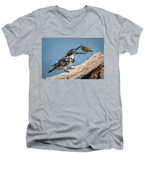 Catch Men's V-Neck T-Shirt