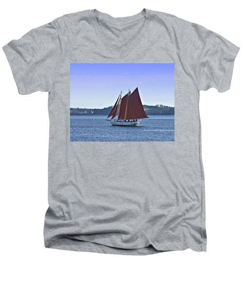Catch The Breeze Men's V-Neck T-Shirt