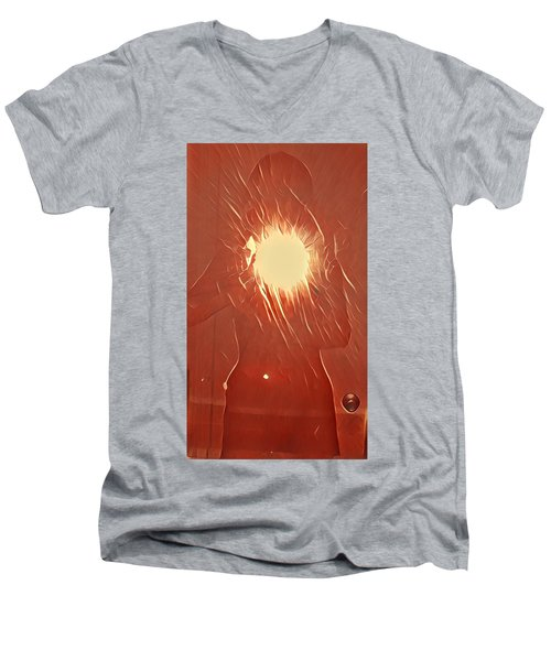 Catching Fire Men's V-Neck T-Shirt