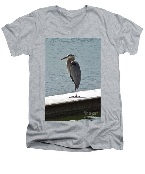 Catching Some Morning Rays Men's V-Neck T-Shirt by Carol  Bradley