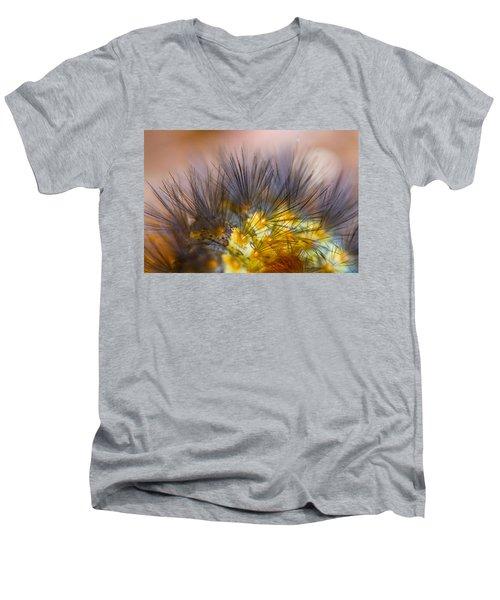 Caterpillar Hair Men's V-Neck T-Shirt