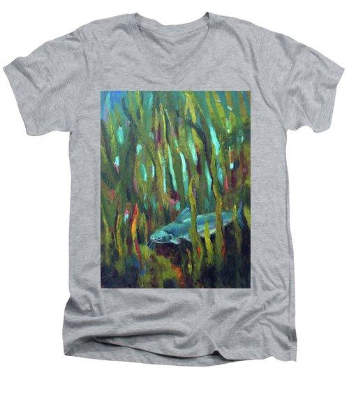 Catfish Men's V-Neck T-Shirt