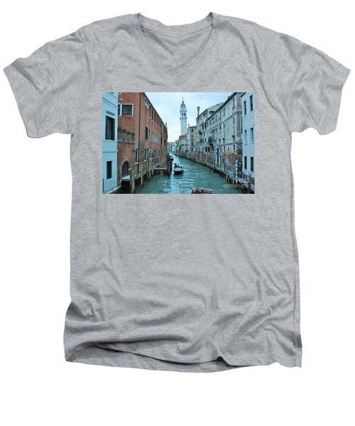 Cathedral Of San Giorgio Dei Greci Men's V-Neck T-Shirt