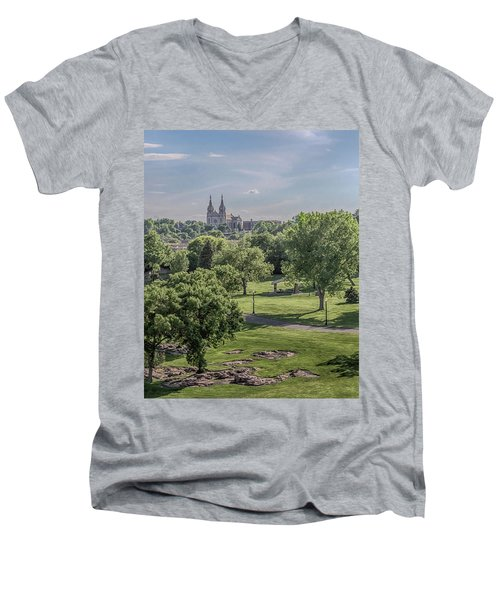 Cathedral Of St Joseph #2 Men's V-Neck T-Shirt
