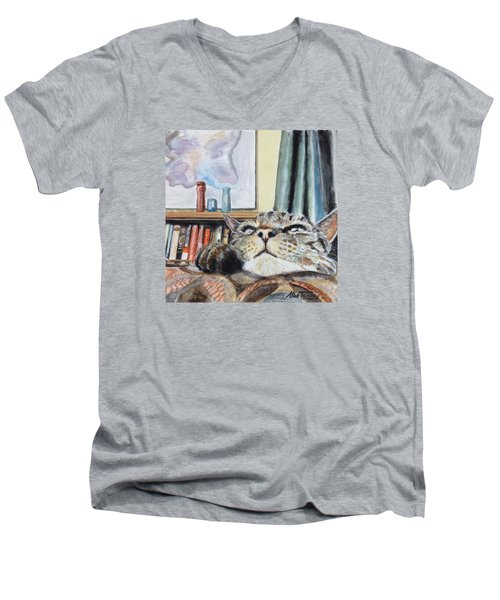 Catnip Men's V-Neck T-Shirt