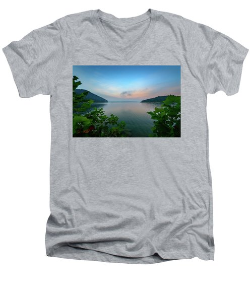 Cave Run Morning Men's V-Neck T-Shirt
