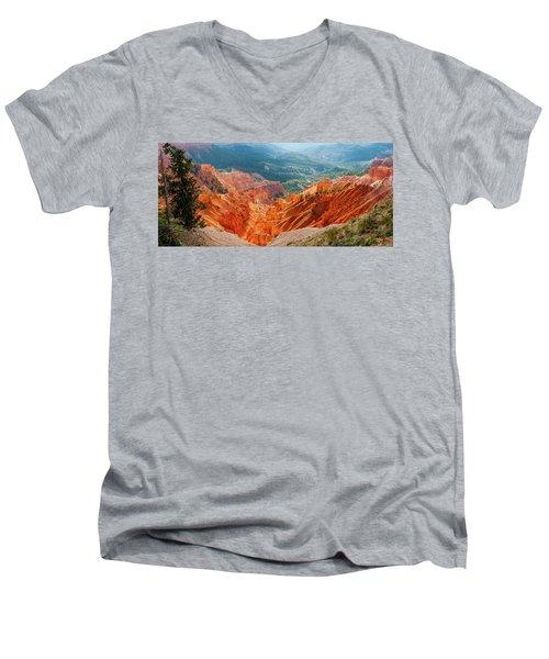 Cedar Breaks Amphitheater Men's V-Neck T-Shirt