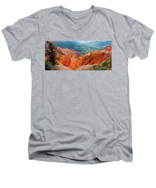 Cedar Breaks Amphitheater Men's V-Neck T-Shirt