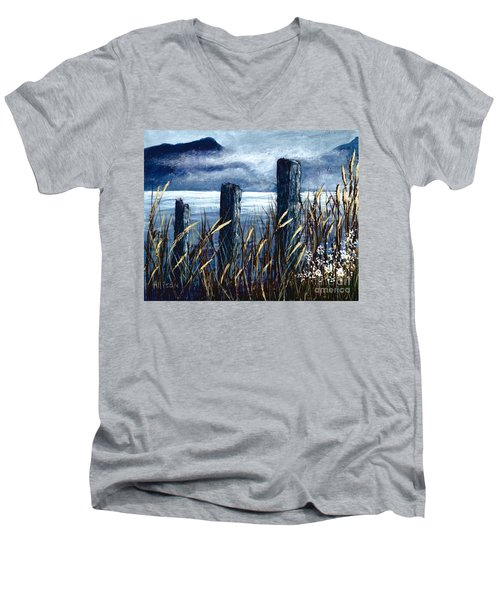 Cedar Cove  Men's V-Neck T-Shirt