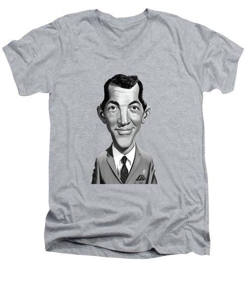 Celebrity Sunday - Dean Martin Men's V-Neck T-Shirt