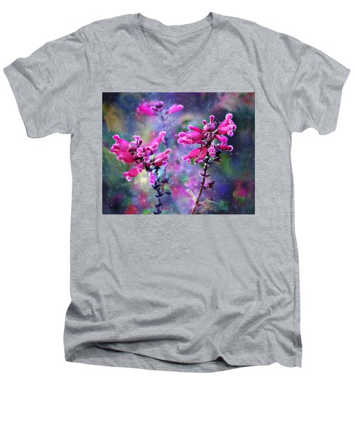 Celestial Blooms-2 Men's V-Neck T-Shirt