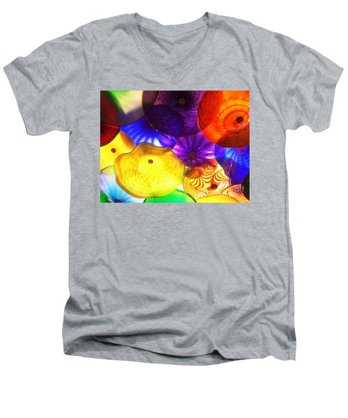 Celestial Glass 3 Men's V-Neck T-Shirt