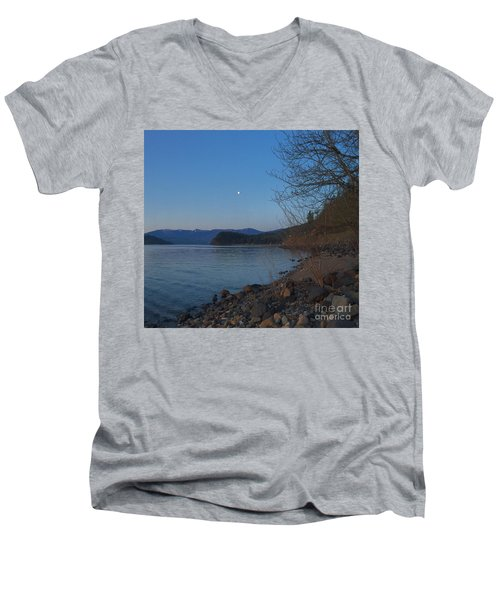 Men's V-Neck T-Shirt featuring the photograph Celista Sunrise 3 by Victor K