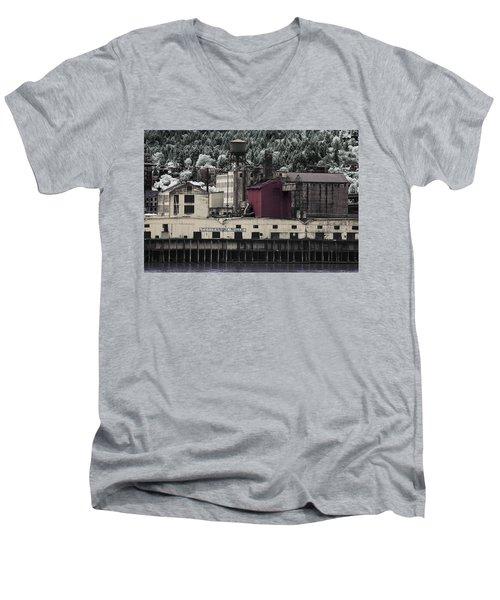 Centennial Mills Men's V-Neck T-Shirt
