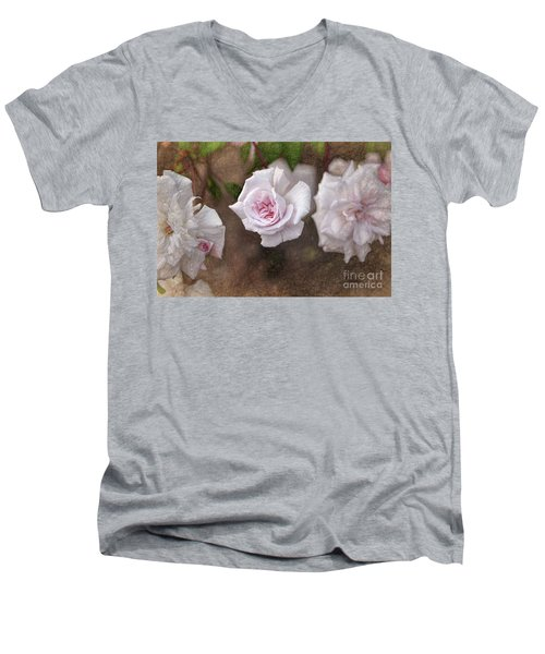 Center Of Hope Men's V-Neck T-Shirt by Gina Savage