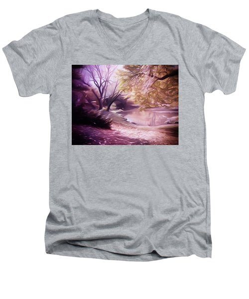 Central Park Men's V-Neck T-Shirt
