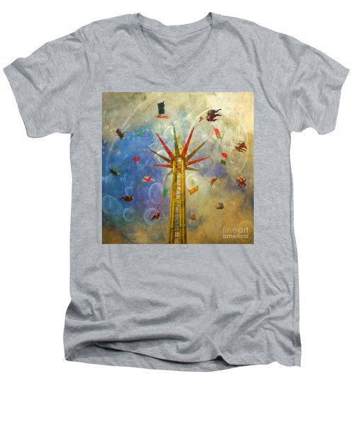 Centre Of The Universe Men's V-Neck T-Shirt
