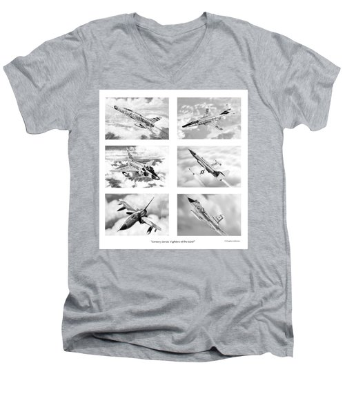 Century Series Drawings Men's V-Neck T-Shirt