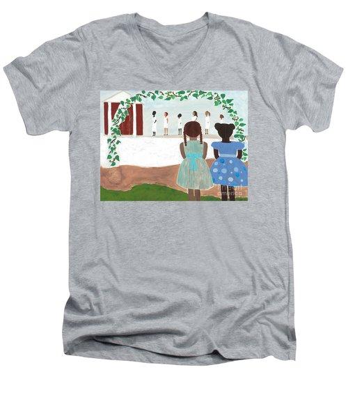 Ceremony In Sisterhood Men's V-Neck T-Shirt