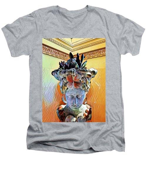 Cronus  Men's V-Neck T-Shirt