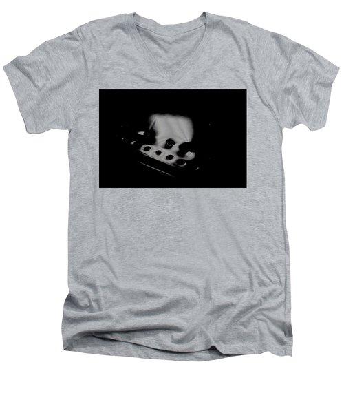 Men's V-Neck T-Shirt featuring the photograph Cessna Art V by Paul Job