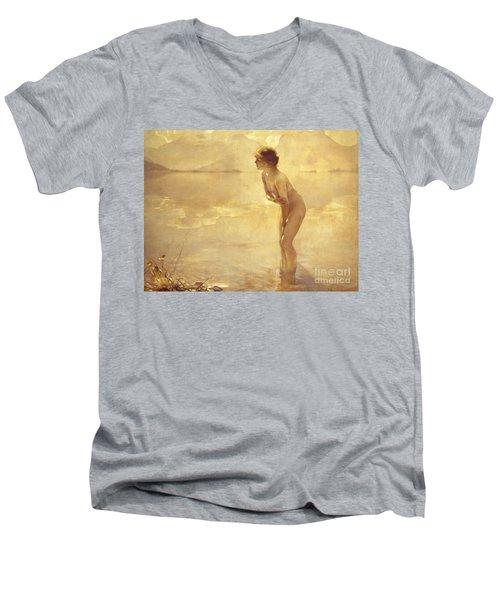 Chabas, September Morn Men's V-Neck T-Shirt