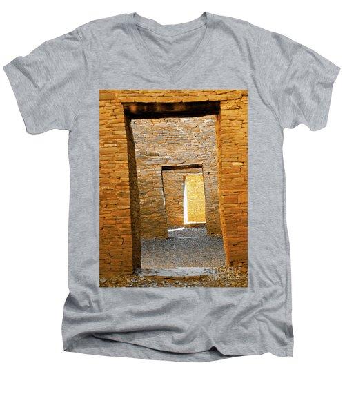 Chaco Canyon Doorways Men's V-Neck T-Shirt