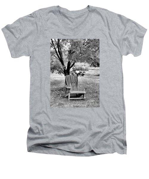 Chair Men's V-Neck T-Shirt by John Krakora