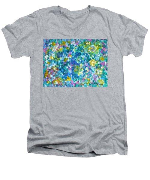 Chameleon Men's V-Neck T-Shirt