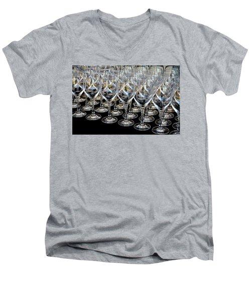 Champagne Army Men's V-Neck T-Shirt