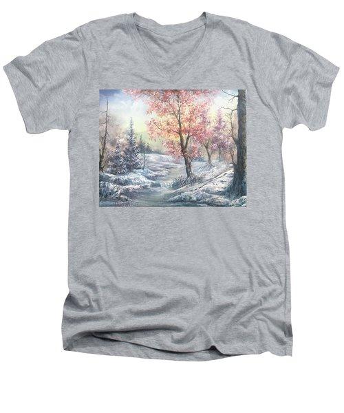 Change Of Seasons  Men's V-Neck T-Shirt
