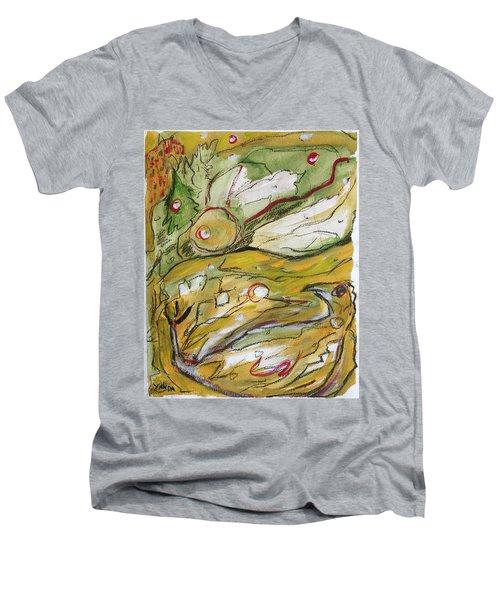 Change Of The Seasons Men's V-Neck T-Shirt