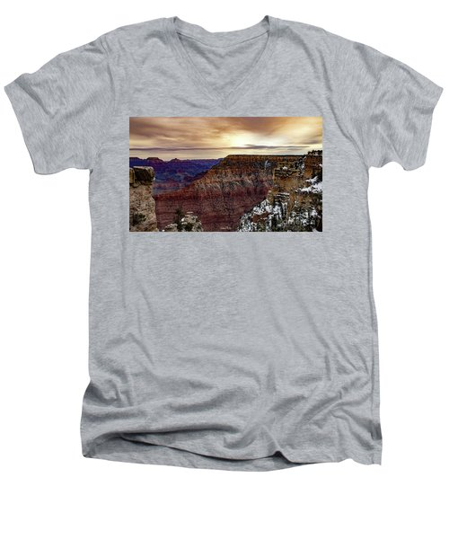 Changing Of The Seasons Men's V-Neck T-Shirt