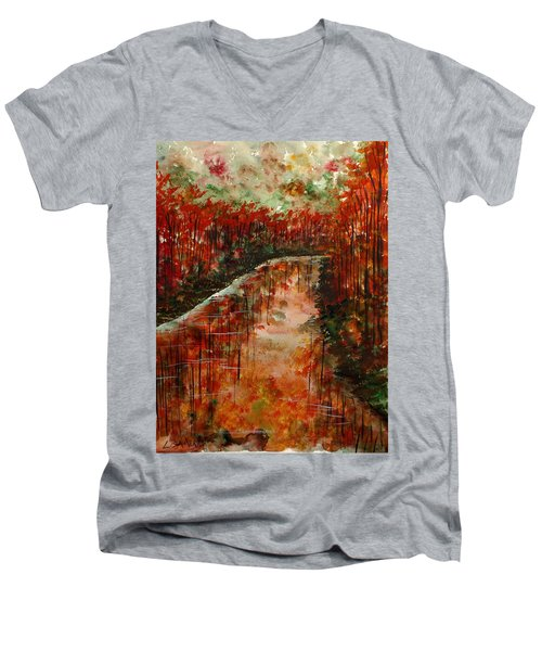 Changing Room Men's V-Neck T-Shirt