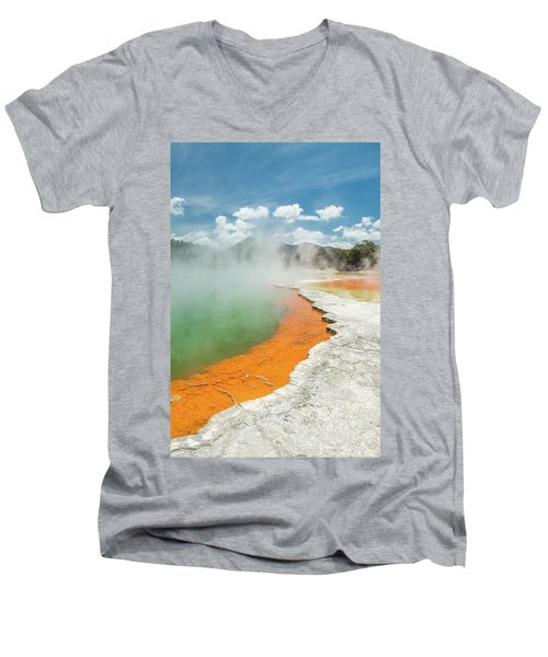 Champagne Pool Men's V-Neck T-Shirt