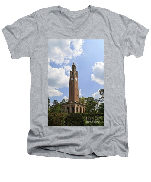 Chapel Hill Bell Tower Men's V-Neck T-Shirt