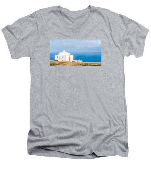 Chapel Of Memory Men's V-Neck T-Shirt