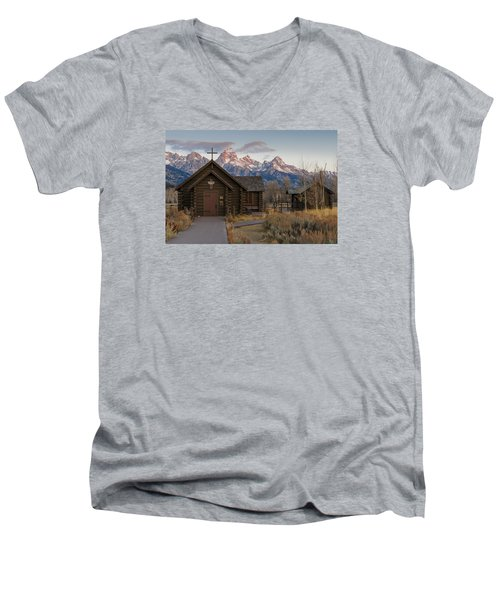 Chapel Of The Transfiguration - II Men's V-Neck T-Shirt