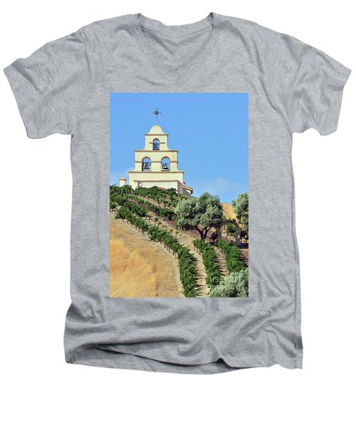 Chapel On The Hill Men's V-Neck T-Shirt